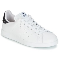 Scarpe Donna Sneakers basse Victoria DEPORTIVO BASKET PIEL Bianco / Blu
