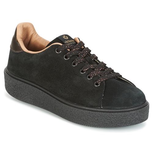 Victoria DEPORTIVO SERRAJE P. NEGRO Nero Scarpe Sneakers basse Donna 48,30
