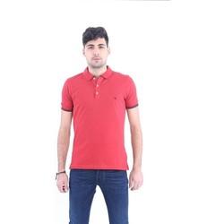 Abbigliamento Uomo Polo maniche corte Fay POLO IN PIQUET ROSSO Red