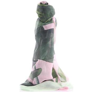 Accessori Donna Sciarpe Altea SCIARPA  IN LINO E MODAL COLORE SFUMATO Green
