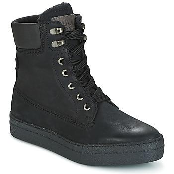 Scarpe Donna Sneakers alte Bullboxer GANDIA Nero