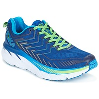 Scarpe Uomo Running / Trail Hoka one one CLIFTON 4 Blu / Verde