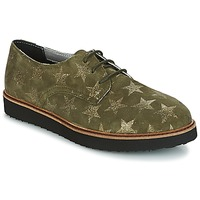 Scarpe Donna Derby Ippon Vintage JAMES SKY KAKI