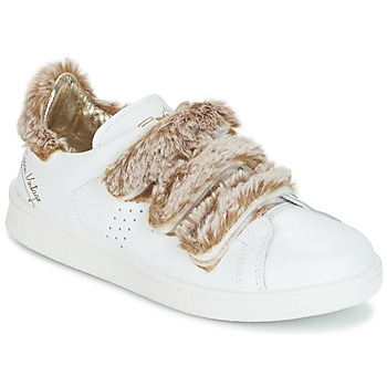 Scarpe Donna Sneakers basse Ippon Vintage FLIGHT POLAR Bianco / Cuivré