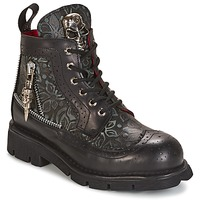 Scarpe Stivaletti New Rock MORTY Nero