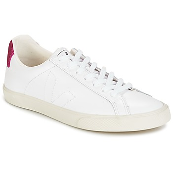Scarpe Donna Sneakers basse Veja ESPLAR LT Bianco / Pailleté / Magenta
