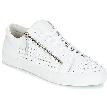 Scarpe Uomo Sneakers basse Jim Rickey ZED STUDS Bianco / Argento