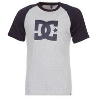Abbigliamento Uomo T-shirt maniche corte DC Shoes STAR RAGLAN SS Nero / Grigio