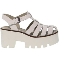 Scarpe Donna Sandali Windsor Smith Sandalo alto  FLUFFY B bianco