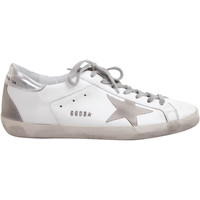 Scarpe Uomo Sneakers basse Golden Goose GOLDEN GOOSE SNEAKERS UOMO GCOMS590W77WH          ARGENTO/BIANCO
