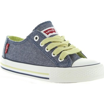 Scarpe Unisex bambino Sneakers Levi's VTRU0008T TRUCKER LOW Azul
