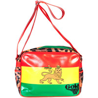 Borse Donna Bisacce Gola CUB827 REDFORD ETHIOPIA ROSSO RED/GREEN/YELLOW