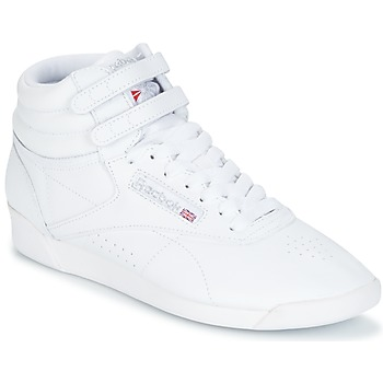Scarpe Donna Sneakers alte Reebok Classic F/S HI Bianco / Argento
