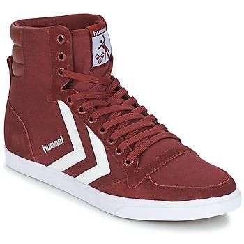 Scarpe Sneakers alte Hummel STADIL CANEVAS HIGH BORDEAUX