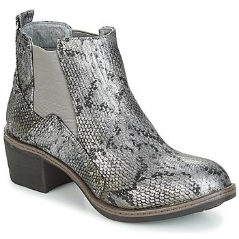 Scarpe Donna Stivaletti LPB Shoes CAROLE Grigio