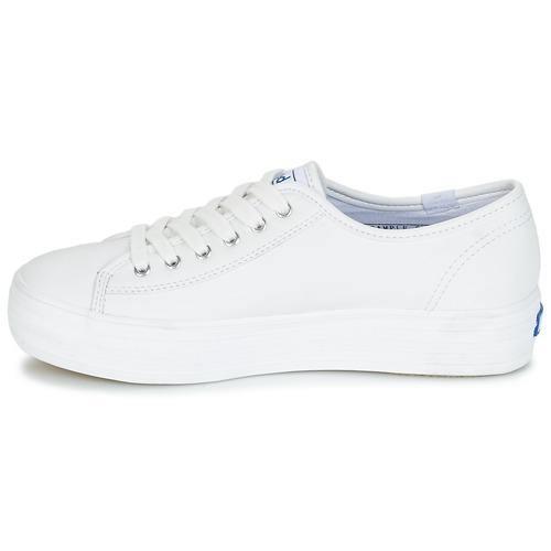 Keds TRIPLE KICK CORE LEATHER Bianco  Scarpe Sneakers basse Donna 72