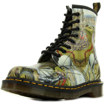 Scarpe Donna Stivaletti Dr Martens 1460 Multi George & Dragon Backhand