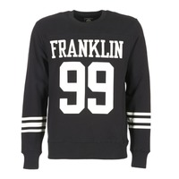 Abbigliamento Uomo Felpe Franklin & Marshall GECAR Nero / Bianco