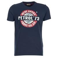 Abbigliamento Uomo T-shirt maniche corte Petrol Industries MERCHA Marine