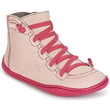 Scarpe Bambina Sneakers alte Camper PEU CAMI Rosa