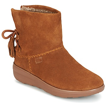 Scarpe Donna Stivaletti FitFlop MUKLUK SHORTY II BOOTS  WITH TASSELS Chestnut