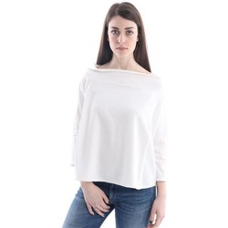 Abbigliamento Donna Top / Blusa Aspesi OVER T-SHIRT  IN COTONE BIANCO White