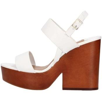 Scarpe Donna Sandali The Seller S5412 Sandalo Donna Bianco Bianco