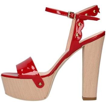 Scarpe Donna Sandali Emporio Di Parma 820 Rosso