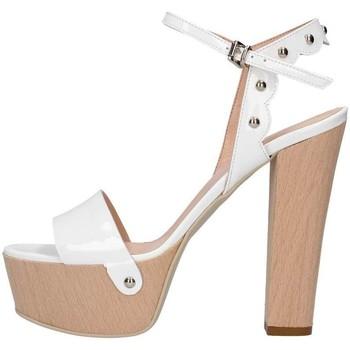 Scarpe Donna Sandali Emporio Di Parma 820 Sandalo Donna Bianco Bianco