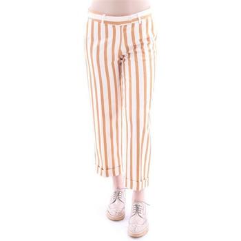 Abbigliamento Donna Pantaloni Lo PANTALONE MEME GIALLO - AVORIO Yellow