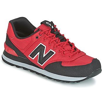 Scarpe Uomo Sneakers basse New Balance ML574 Rosso
