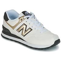 Scarpe Donna Sneakers basse New Balance WL574 Bianco