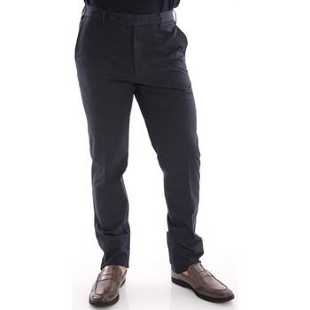 Abbigliamento Uomo Chino Rota PANTALONI IN COTONE ELASTICIZZATO BLU NOTTE Blue