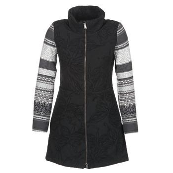 Abbigliamento Donna Cappotti Desigual GRAME Nero