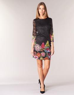 Abbigliamento Donna Abiti corti Desigual GRAFI Nero