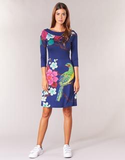 Abbigliamento Donna Abiti corti Desigual MARTA Blu