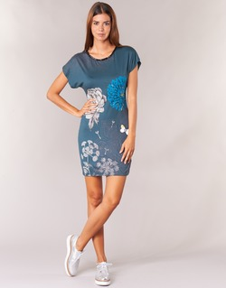 Abbigliamento Donna Abiti corti Desigual MARTI Blu