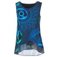Abbigliamento Donna Top / T-shirt senza maniche Desigual TAMAC Blu