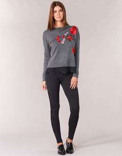 Abbigliamento Donna Leggings Desigual JOLEF Nero