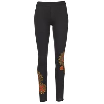 Abbigliamento Donna Leggings Desigual JULEF Nero