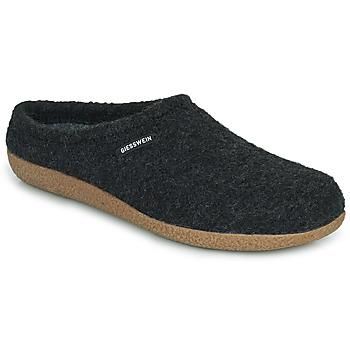 Scarpe Uomo Pantofole Giesswein VEITSCH Antracite