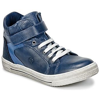 Scarpe Bambino Sneakers alte Citrouille et Compagnie HOCHOU Marine