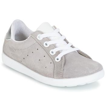 Scarpe Bambina Sneakers basse Citrouille et Compagnie HINETTE Grigio / Argento