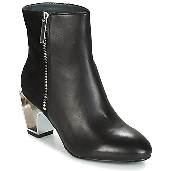 Scarpe Donna Stivaletti United nude ICON BOOT MID Nero