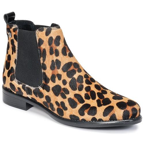 Scarpe Donna Stivaletti Betty London HUGUETTE Leopard
