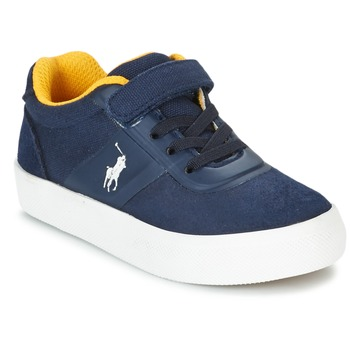 Scarpe Bambino Sneakers basse Polo Ralph Lauren HANFORD HM EZ Marine