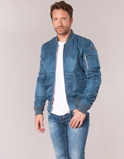 Abbigliamento Uomo Giubbotti Schott BOMBER BY SCHOTT Blu