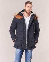 Abbigliamento Uomo Piumini Schott ARIZONA Blu / Marine