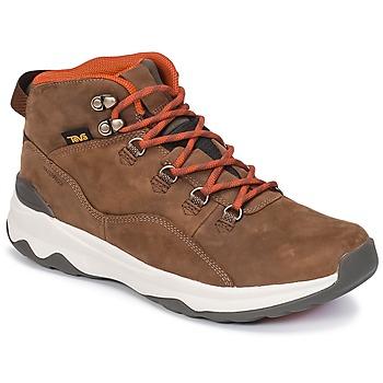 Scarpe Uomo Sneakers alte Teva ARROWOOD UTILITY MID Marrone
