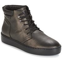 Scarpe Donna Sneakers alte PLDM by Palladium TRACK DST W Nero / Oro